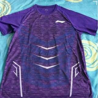🚚 Authentic li-ning men's badminton t shirt size xl