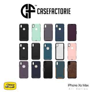OtterBox Case iPhone Xs Max Symmetry Clear Commuter Defender