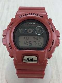 G-SHOCK dw6900 Red