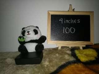 Cute panda stufftoy