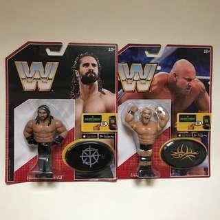 *$18 Each* WWE Mattel Retro Figures