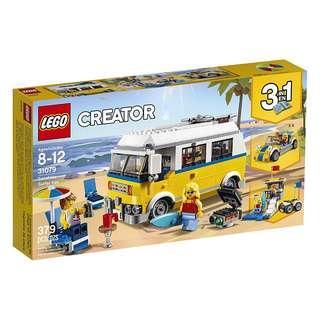 [In hand] LEGO 31079 Sunshine Surfer Van