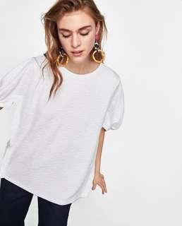 Zara Textured Tshirt