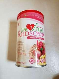 Dr Vital Redsoya Plus Plus Organic Red Beetrrot (Non-Dairy Milk Alternatives)