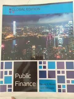 Public Finance by Harvey S. Rosen and Ted Gayer