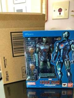 (全新)SHF Iron Man Mark III 3 Blue Stealth Color Ironman 鐵甲奇俠