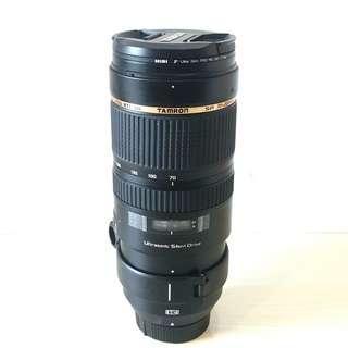 Tamron SP 70-200mm F2.8 A009 Len for Nikon