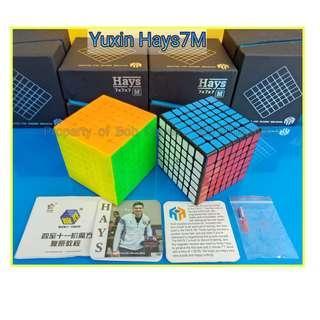 + Hays7M (Magnetic) by Yu-Xin 7x7 for sale ! Brand New SpeedCube ! ( Hays 7M, Hays7 M, Hays 7 M)