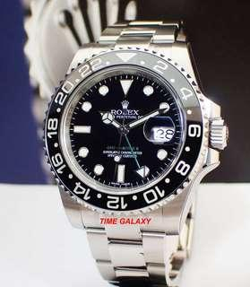 Brand New Rolex GMT Master II Reference 116710LN