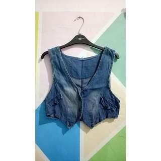 Jaket jeans outer