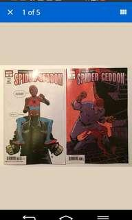 Edge of Spider-Geddon #3A and B