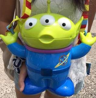 全新東京迪士尼三眼仔爆谷桶three eyes alien popcorn
