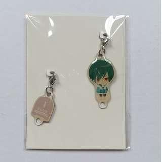 High☆Speed! -Free! Starting Days- - Ikuya Kirishima - Metal Charm Set
