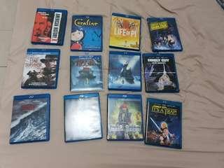 Blu Ray $10 each or trade in for Force Awakens and Return of a Jedi