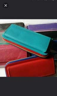 Colourful long wallet