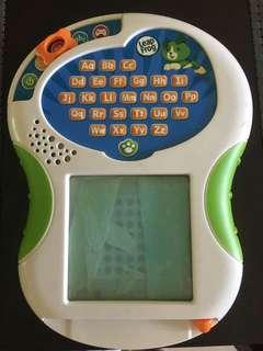 Leapfrog tracing toy