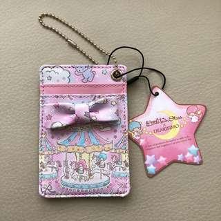 Sanrio little twin stars 雙子星 kiki lala ts twinstar 公仔 八達通咭套 card holder