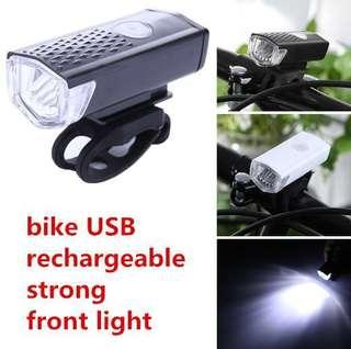 bike strong LED light-USB rechargeable