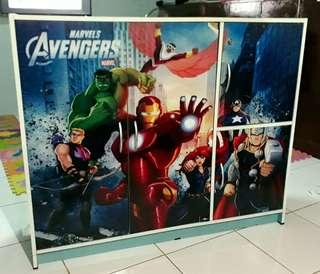 Avengers Wooden Cabinet for Boys (babies, toddlers, school-aged)