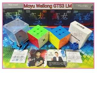 - Moyu Weilong GTS3 LM (Magnetic) 3x3 for sale in Singapore ( GTS3LM GTS 3LM GTS 3 LM GTS3M )