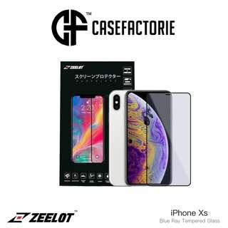 Zeelot Pureglass Blu Ray Tempered glass For iPhone Xs