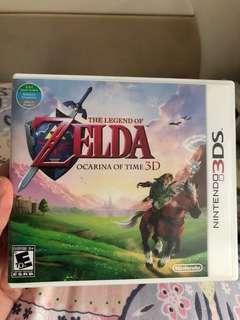 3DS the legend of Zelda - ocarina of time 3D
