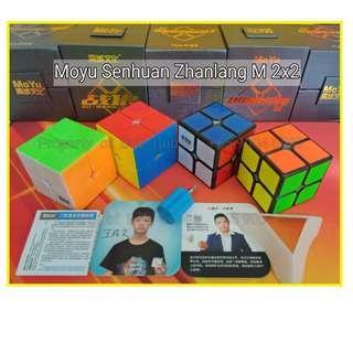 - Moyu Senhuan Zhanlang M (Magnetic) 2x2 for sale   ! Brand New Speedcube !