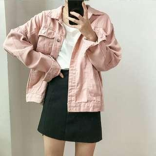 [interest check] oversized denim jacket