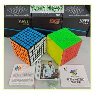 - Hays7 by Yu-Xin 7x7 for sale ! Brand New SpeedCube ! Hays7M