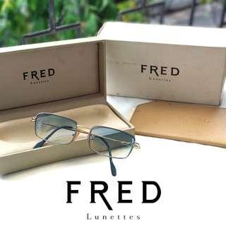 Fred Lunettes Clear Blue Sunglasses / Kacamata Biru
