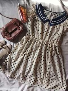 Sailor Chiffon Dress