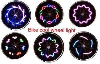 Bicycle 12 patterns super cool wheel light