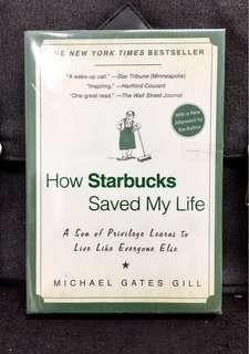 #3×100 《Preloved Paperback + An Inspiring Memoir By Author That Chronicles His Rich-To-Rag Journey From Advertising Executive To A Barista At Starbucks》Michael Gates Gill- How Starbucks Saved My Life: A Son of Privilege Learns to Live Like Everyone Else