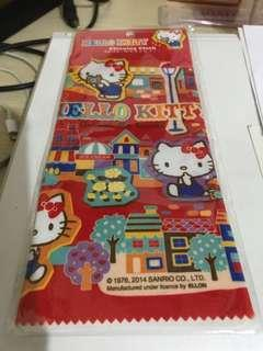 Hello Kitty cleaning cloth 柔軟棉布
