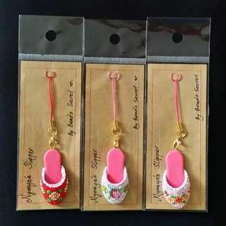 Peranakan Mini Shoes Keychain