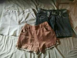 3 for 200 Shorts