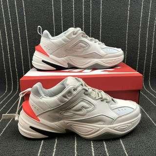 Nike M2K Techno White Crimson