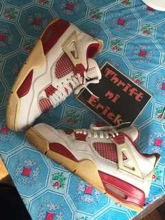 Authentic jordan 4 alternate 89
