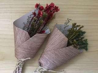 Mini Dried Flower Bouquets