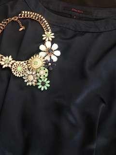 Kisses & Co. blouse / top w/ belt detail
