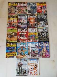 Lego Blocks Magazines