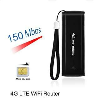 Universal Portable 4G LTE Modem SIM Card LTE USB Wifi Router Dongle - Best Deal