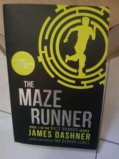 The maze runner book 1