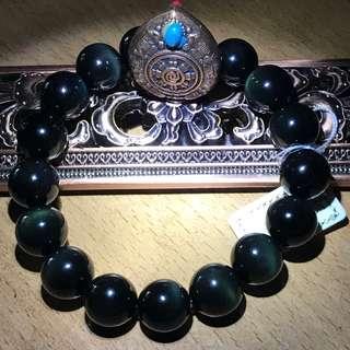 🚚 Rainbow Obsidian Bracelets 12mm