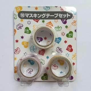 (Limited) 20th Anniversary V6 x Lawson - Decoration / Masking Tape Set
