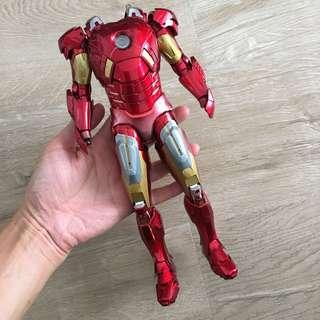 "1/6 scale 12"" Iron Man Mk7 Super Alloy By Play Imaginative. Robot Metal Die Cast"