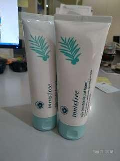 Brand New Innisfree Bija Trouble Facial Foa.