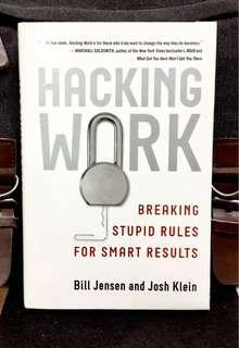 #3×100 《New Book Condition + Hardcover Edition + One Of Harvard Business Review's Ten Breakthrough Ideas For 2010》Bill Jensen & Josh Klein- HACKING WORK : Breaking Stupid Rules For Smart Results