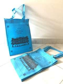 2018 Raffles Hotel Collectible Blue Moon Cake Paper Bag