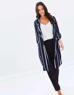 Striped Blue and White Jacket